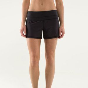 Lululemon Groovy Run Short Block It Pocket 2 Black